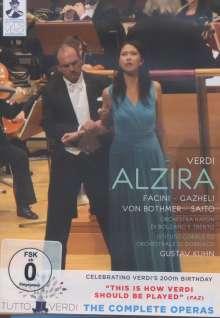 Giuseppe Verdi (1813-1901): Tutto Verdi Vol.9: Alzira (DVD), DVD
