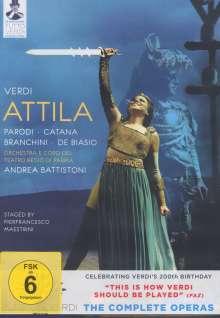 Giuseppe Verdi (1813-1901): Tutto Verdi Vol.8: Attila (DVD), DVD