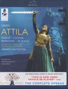 Giuseppe Verdi (1813-1901): Tutto Verdi Vol.8: Attila (Blu-ray), Blu-ray Disc