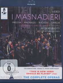 Giuseppe Verdi (1813-1901): Tutto Verdi Vol.11: I Masnadieri (Blu-ray), Blu-ray Disc