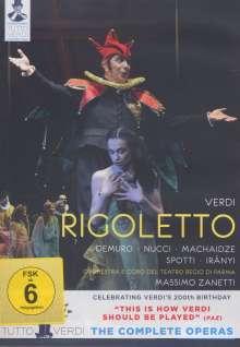 Giuseppe Verdi (1813-1901): Tutto Verdi Vol.16: Rigoletto (DVD), DVD