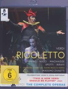 Giuseppe Verdi (1813-1901): Tutto Verdi Vol.16: Rigoletto (Blu-ray), Blu-ray Disc