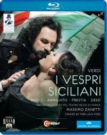 Giuseppe Verdi (1813-1901): Tutto Verdi Vol.19: I Vespri Siciliani (Blu-ray), Blu-ray Disc