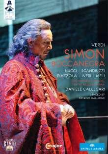 Giuseppe Verdi (1813-1901): Tutto Verdi Vol.20: Simon Boccanegra (DVD), DVD