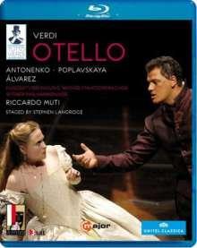 Giuseppe Verdi (1813-1901): Tutto Verdi Vol.25: Otello (Blu-ray), Blu-ray Disc