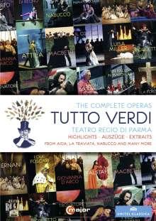Giuseppe Verdi (1813-1901): Tutto Verdi Sampler (DVD), DVD