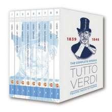 Giuseppe Verdi (1813-1901): Tutto Verdi  - The Operas Vol.1 (1839-1846) (DVD), 9 DVDs