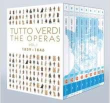 Giuseppe Verdi (1813-1901): Tutto Verdi - Tutto Verdi  - The Operas Vol.1 (1839-1846) (Blu-ray), 9 Blu-ray Discs