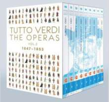 Giuseppe Verdi (1813-1901): Tutto Verdi - The Operas Vol.2 (1847-1853) (Blu-ray), 9 Blu-ray Discs
