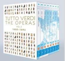 Giuseppe Verdi (1813-1901): Tutto Verdi - The Operas Vol.3 (1855-1893) (Blu-ray), 8 Blu-ray Discs