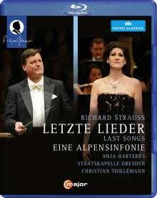 Richard Strauss (1864-1949): Alpensymphonie op.64, Blu-ray Disc