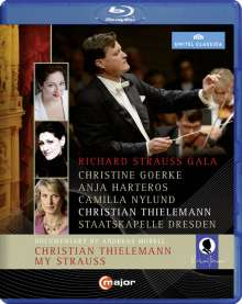 Christian Thielemann - Richard Strauss Gala, Blu-ray Disc
