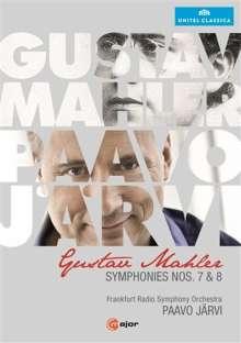 Gustav Mahler (1860-1911): Symphonien Nr.7 & 8, 2 DVDs