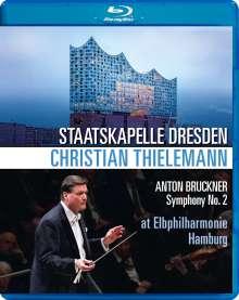 Anton Bruckner (1824-1896): Symphonie Nr.2, Blu-ray Disc