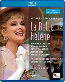 Jacques Offenbach (1819-1880): La belle Helene, Blu-ray Disc