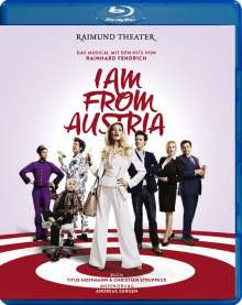 Musical: I Am From Austria, Blu-ray Disc