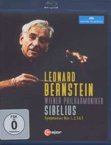 Jean Sibelius (1865-1957): Symphonien Nr.1,2,5,7, Blu-ray Disc