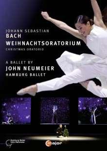 Johann Sebastian Bach (1685-1750): Weihnachtsoratorium BWV 248 (als Ballett-Version von John Neumeier), 2 DVDs