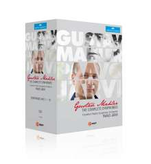 Gustav Mahler (1860-1911): Symphonien Nr.1-9, 9 DVDs