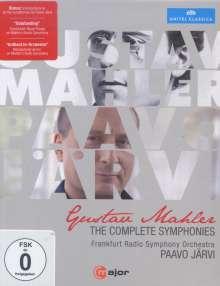 Gustav Mahler (1860-1911): Symphonien Nr.1-9, 5 Blu-ray Discs