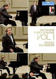 Ludwig van Beethoven (1770-1827): Klaviersonaten Vol.1 (Mitschnitte von den Salzbuger Festspielen 2014), 2 DVDs
