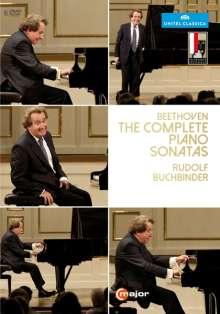 Ludwig van Beethoven (1770-1827): Klaviersonaten Nr.1-32 (Mitschnitte von den Salzburger Festspielen 2014), 6 DVDs
