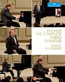Ludwig van Beethoven (1770-1827): Klaviersonaten Nr.1-32 (Mitschnitte von den Salzburger Festspielen 2014), 3 Blu-ray Discs