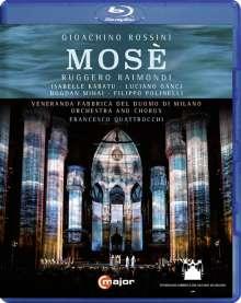 Gioacchino Rossini (1792-1868): Mose, Blu-ray Disc