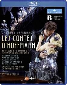 Jacques Offenbach (1819-1880): Les Contes D'Hoffmann, Blu-ray Disc