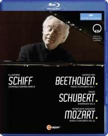 Andras Schiff - Beethoven / Schubert / Mozart, Blu-ray Disc