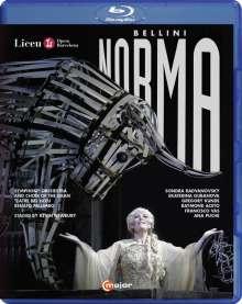 Vincenzo Bellini (1801-1835): Norma, Blu-ray Disc
