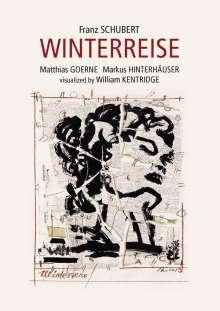 Franz Schubert (1797-1828): Winterreise D.911 (Visualisiert von William Kentridge), DVD