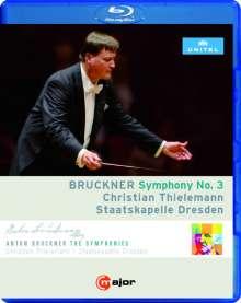 Anton Bruckner (1824-1896): Symphonie Nr.3, Blu-ray Disc