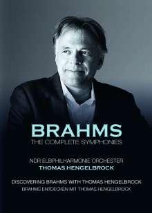 Johannes Brahms (1833-1897): Symphonien Nr.1-4, 2 DVDs