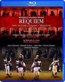 Wolfgang Amadeus Mozart (1756-1791): Requiem KV 626 (in der Felsenreitschule Salzburg), Blu-ray Disc
