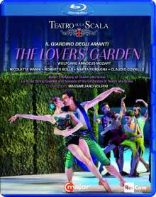 Ballet Company of Teatro alla Scala: The Lover's Garden, Blu-ray Disc
