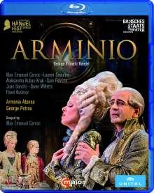Georg Friedrich Händel (1685-1759): Arminio, Blu-ray Disc