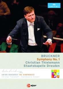 Anton Bruckner (1824-1896): Symphonie Nr.1, DVD