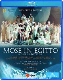 Gioacchino Rossini (1792-1868): Mose in Egitto, Blu-ray Disc
