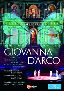 Giuseppe Verdi (1813-1901): Giovanna d'Arco, DVD