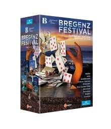 Bregenzer Festspiele (5 Opern-Inszenierungen), 5 DVDs