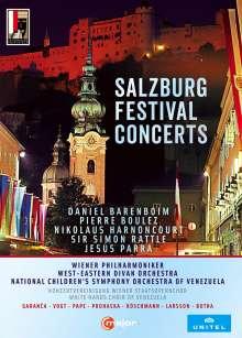 Salzburger Festspiele - Konzerte 2007-2013, 6 DVDs