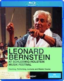 Leonard Bernstein at Schleswig-Holstein Musik Festival 1988, Blu-ray Disc