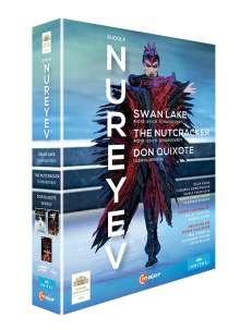 The Nureyev Box - Schwanensee,Der Nussknacker,Don Quixote, 3 DVDs