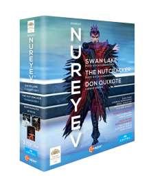 The Nureyev Box - Schwanensee,Der Nussknacker,Don Quixote, 3 Blu-ray Discs