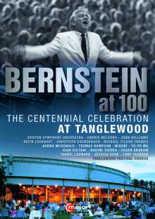 Bernstein at 100 - The Centennial Celebration at Tanglewood, DVD