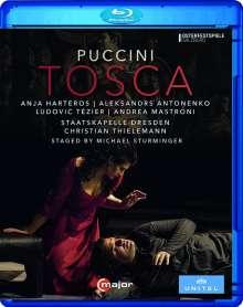 Giacomo Puccini (1858-1924): Tosca, Blu-ray Disc