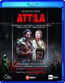 Giuseppe Verdi (1813-1901): Attila, Blu-ray Disc