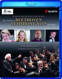 Ludwig van Beethoven (1770-1827): Symphonie Nr.9, Blu-ray Disc