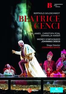 Berthold Goldschmidt (1903-1996): Beatrice Cenci, DVD